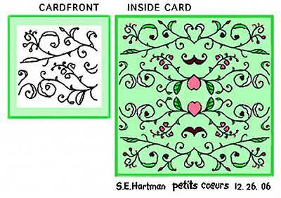 Petits Coeurs    Tiny Hearts Digital Art by Sue Hartman