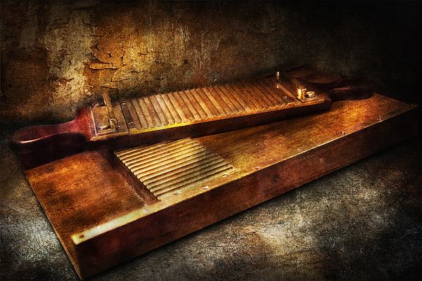 Hdr Photograph - Pharmacy - Traditional Pill Crusher  by Mike Savad
