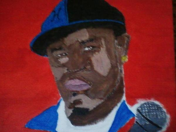 Phases Of A Rapper Painting by Q Iswag