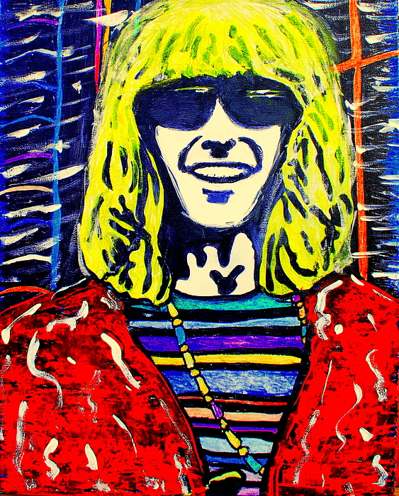 Phil Lesh Painting - Phil Lesh by Gayland Morris