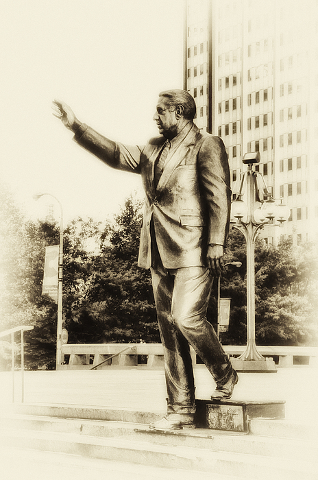 Mayor Photograph - Philadelphia Mayor - Frank Rizzo by Bill Cannon
