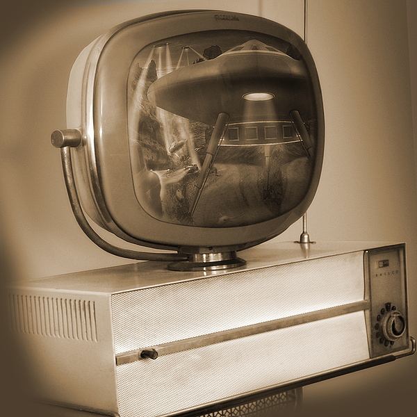 Vintage Television Photograph - Philco Television  by Mike McGlothlen