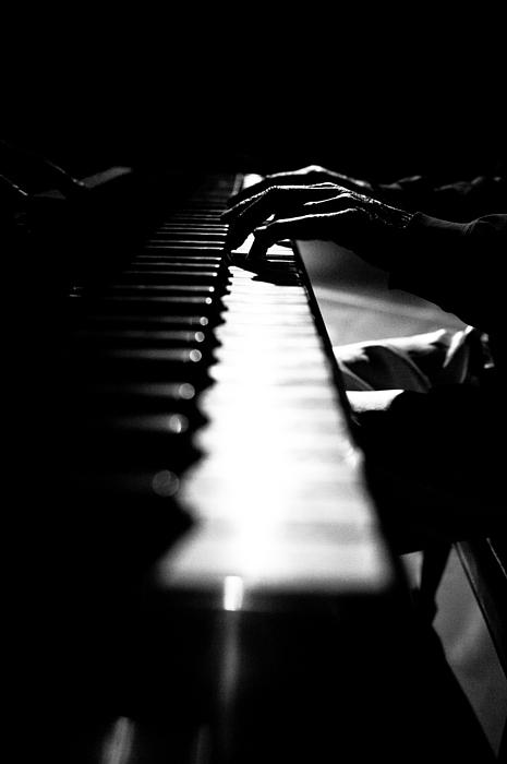 Piano Photograph - Piano Player by Scott Sawyer
