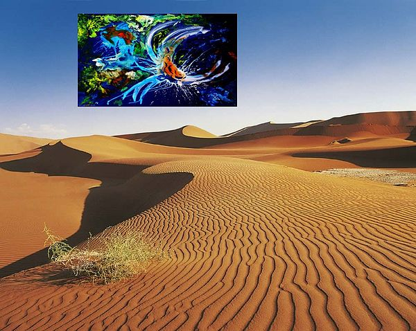 New Life In Desert New  Modern Design Interior Decoration Painting - Picture 90 by Vlado  Katkic