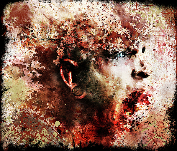 Face Digital Art - Pieces by Robert  Adelman