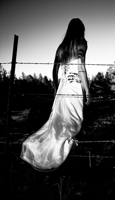 Torn Dress Photograph - Pierced Dress by Scott Sawyer