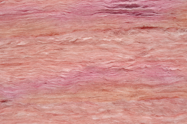 Roof Photograph - Pink Fiberglass Insulation Material by Fernando Barozza