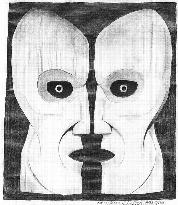 Pink Floyd Symbol Drawing By Zecky Langner