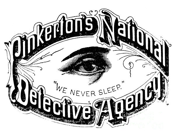 detective drawing pinkertons national detective agency we never sleep by american school