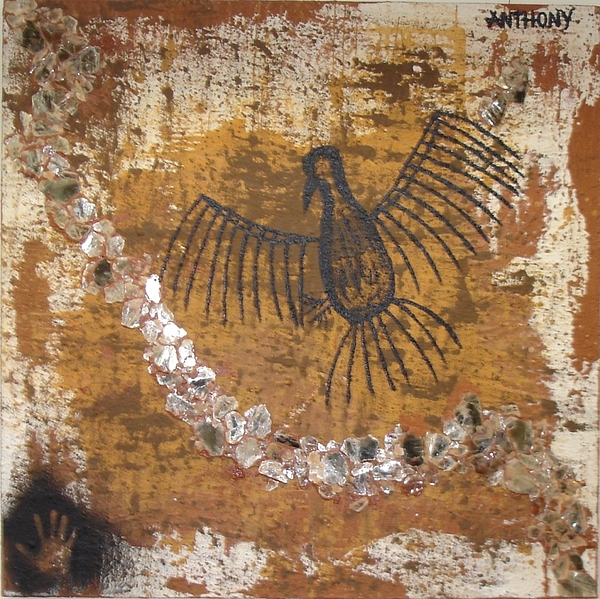 Primitive Painting - Pintura Rupestre II  by Marcos  Anthony