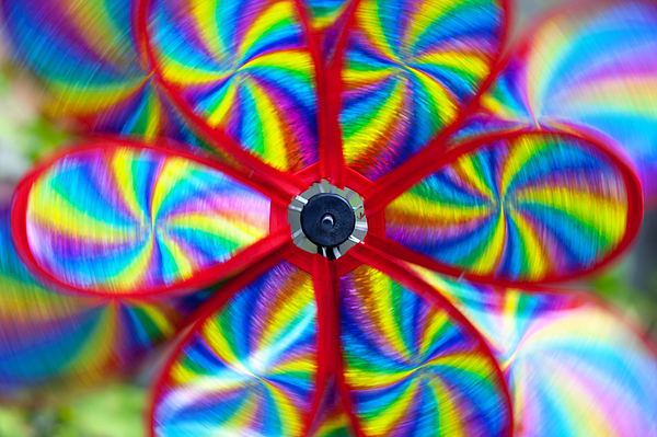 Toy Photograph - Pinwheel by Michal Boubin