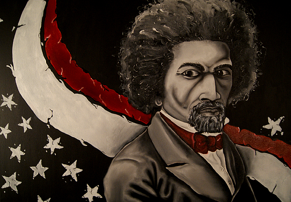 Freedom Painting - Pioneer Of Fredom by David Marion Green