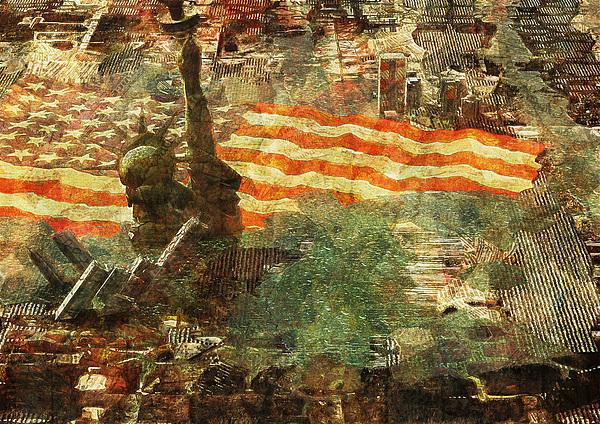 Statue Of Liberty Digital Art - Pitfall by Haruo Obana