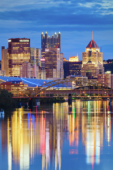 Steelers Photograph - Pittsburgh 2 by Emmanuel Panagiotakis