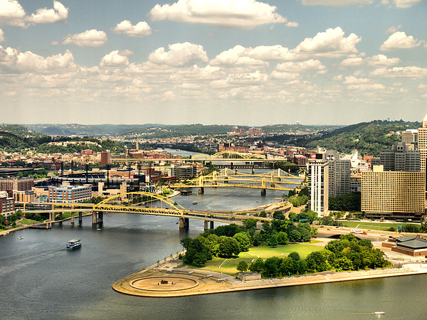 Hdr Photograph - Pittsburgh Hdr by Arthur Herold Jr