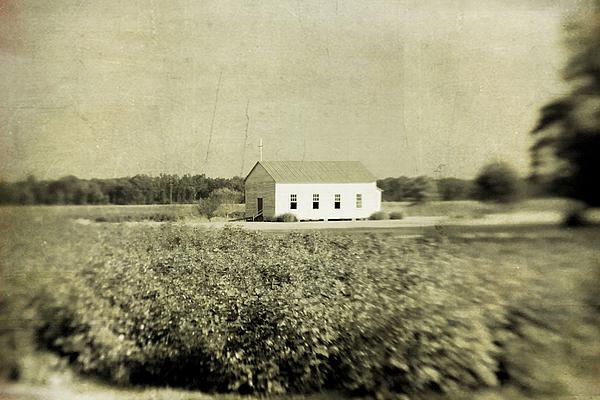 Church Photograph - Plantation Church by Scott Pellegrin
