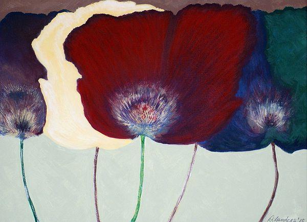 Flowers Painting - Pleasure by Deborah Landers