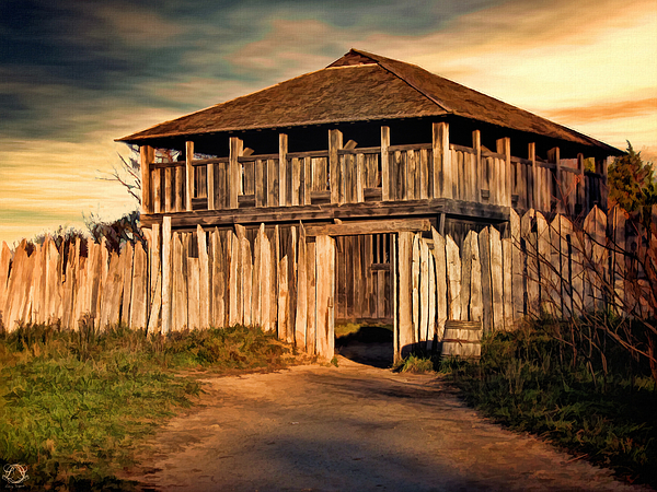 Plimouth Plantation  Meeting House Photograph by Lourry Legarde