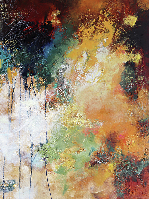Abstract Painting Painting - Plush by Elizabeth Chapman