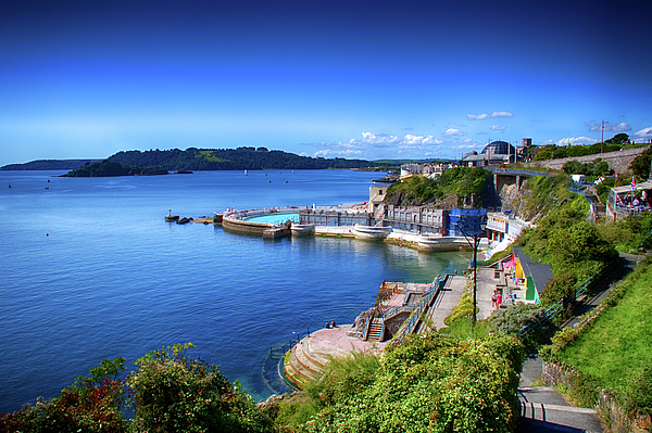 Plymouth Photograph - Plymouth Foreshore by Chris Day
