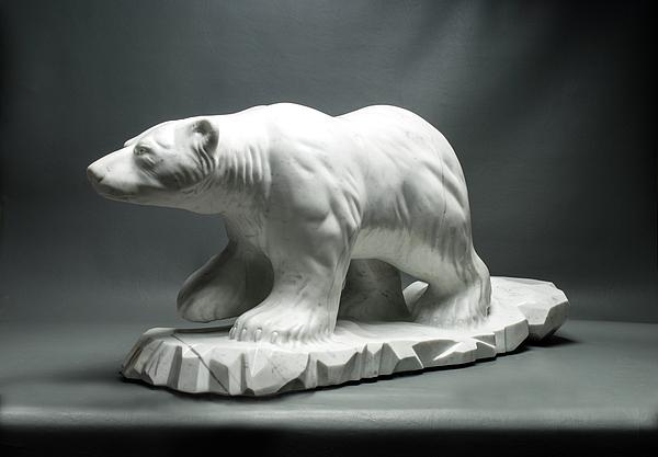 Sculpture Sculpture - Polar King by Leslie Dycke