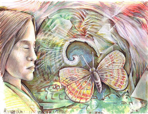 Moth Painting - Polilla by Jeremy Robinson