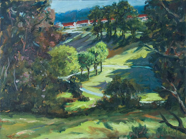 Park Painting - Polin Springs by Rick Nederlof