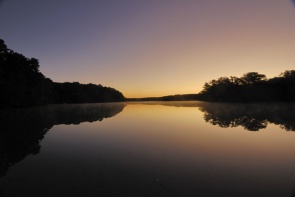 Sunrise Photograph - Pond Sunrise by Mimi Katz