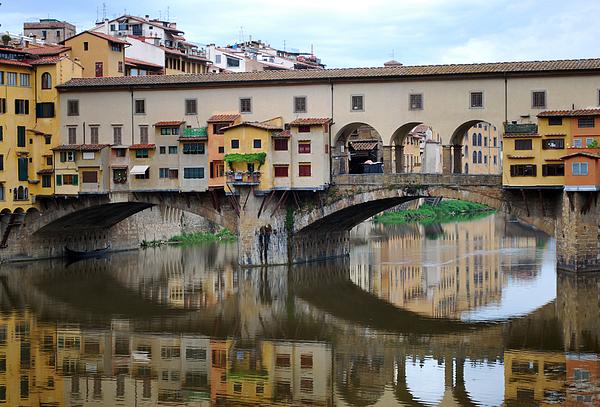 Ponte Vecchio Photograph - Ponte Vecchio Reflects. by Terence Davis