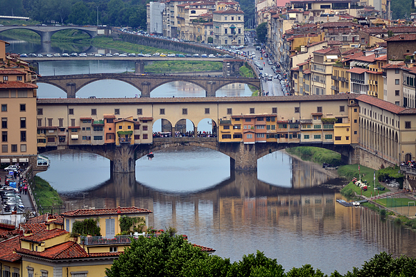 Ponte Photograph - Ponte Vecchio by Terence Davis