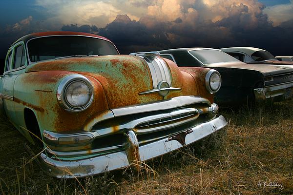 Pontiac Photograph - Pontiac Chieftain by Andrea Kelley