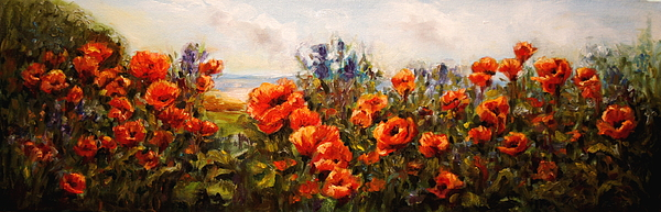 B Rossitto - Poppies by the Sea
