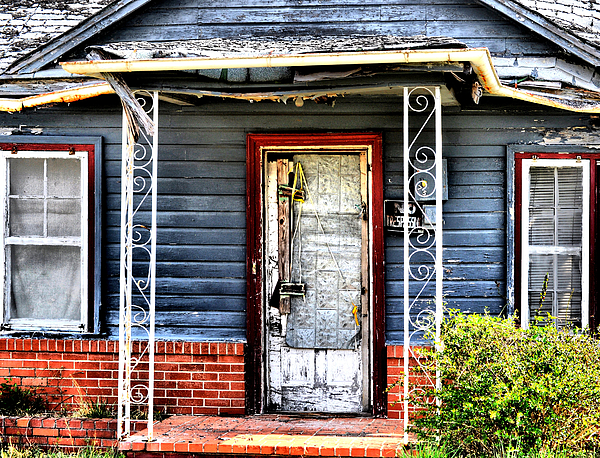 Abandoned Photograph - Porch Of S by Emily Stauring