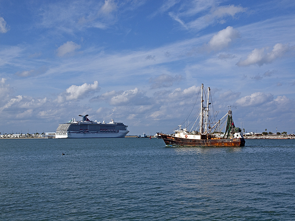 Canaveral Photograph - Port Canaveral In Florida Usa by Allan  Hughes