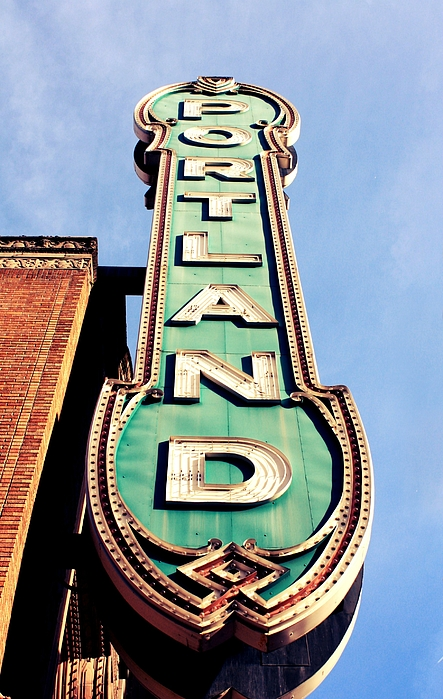 Marque Photograph - Portland by Cathie Tyler