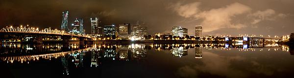 Portland Photograph - Portland Panorama by Brian Bonham