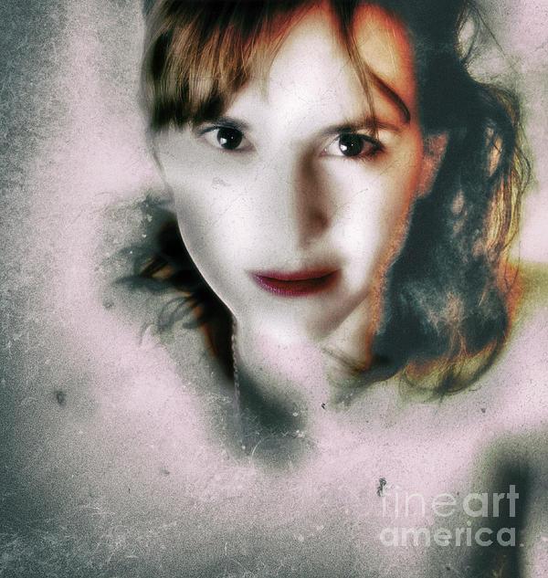 Beauty Photograph - Portrait In Antonym  by Steven Digman