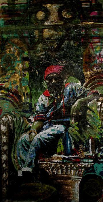 Portrait Painting - Portrait Of A Friend by Samuel Miller