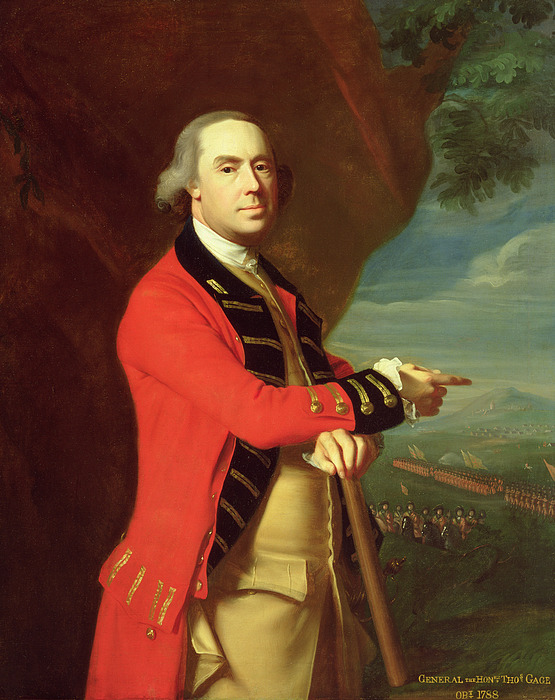 Portrait Painting - Portrait Of General Thomas Gage by John Singleton Copley