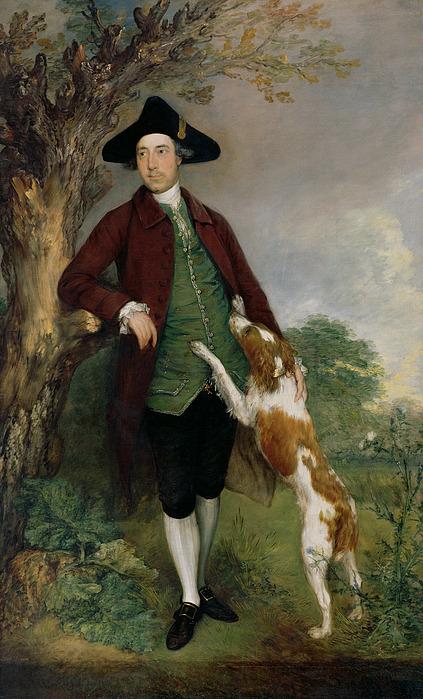 Portrait Painting - Portrait Of George Venables Vernon by Thomas Gainsborough