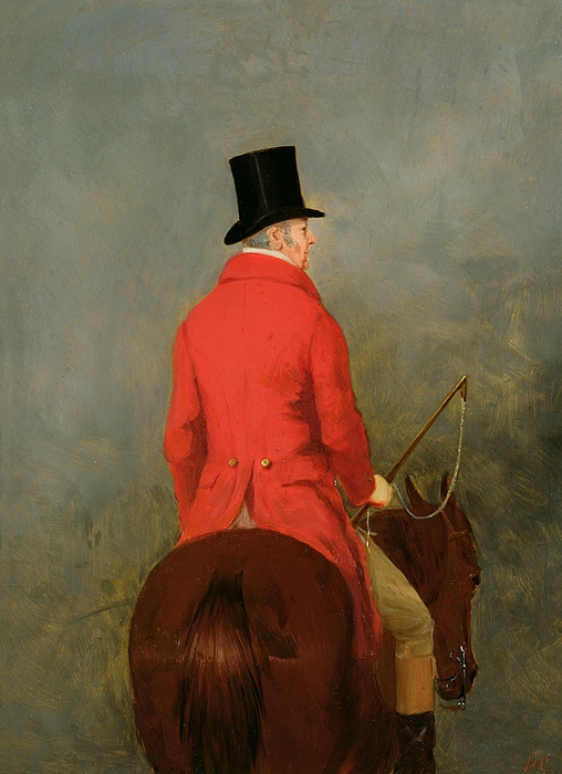 Portrait Painting - Portrait Of Thomas Cholmondeley by Henry Calvert