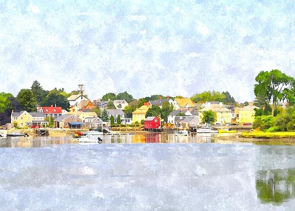 Water Digital Art - Portsmouth Nh South End Psewc by Jim Brage