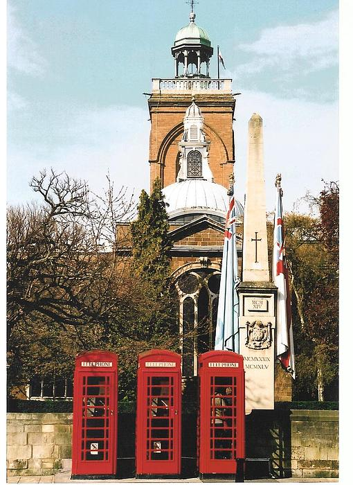 Telephone Photograph - Postcards Calling by Paul Woods