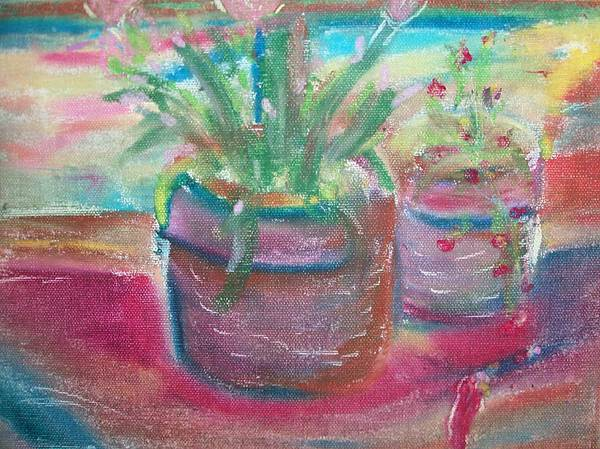 Potted Painting - Potted Plants by Bob Smith