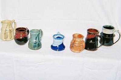 Potter 1 Ceramic Art by Wayne Conyers