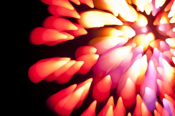 Fireworks Photograph - Powerful Explosion K874 by Yoshiki Nakamura