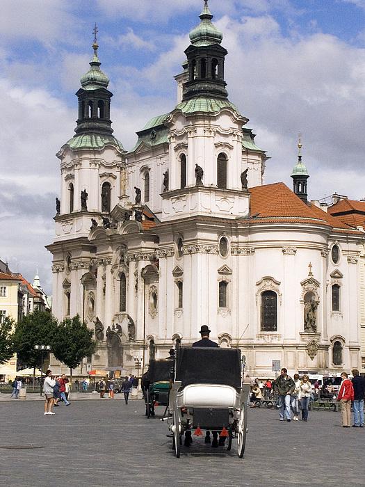 Prague Photograph - Prague by Charles  Ridgway
