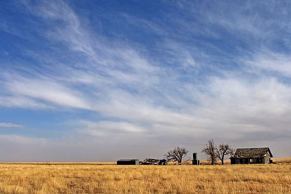 Landscape Photograph - Prarie House by Peter Tellone