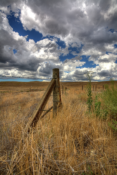 Clouds Photograph - Prarie Sky by Peter Tellone