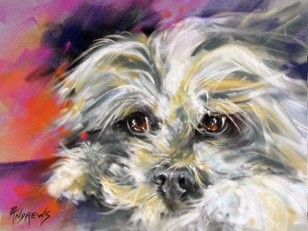 Animal Painting - precious by Rae Andrews